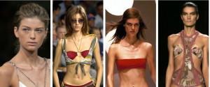 Skinny modelsa