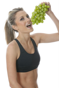 eat grapes