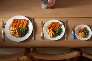 mindfull porsi-makanan-dan-ukuran-piring-ilustrasi-_
